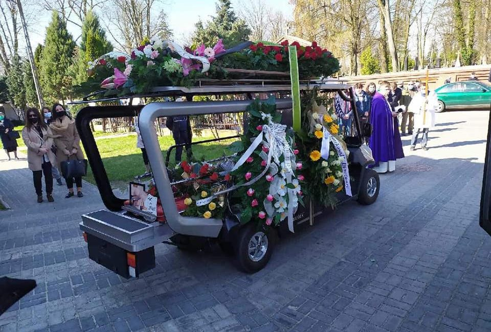 Kondukt żałobny Piotrków Trybunalski Grave Mijas