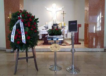 Ceremonia pogrzebowa w czasie pandemii